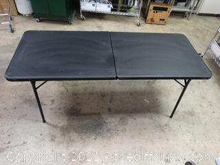 Folding Table - 6' x 2 1/2'