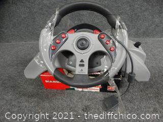 Diamond Stealth S80 w/ Gaming Steering Wheel