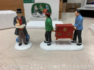Dept 56 Dickens Village Fine Asian Antiques Collectibles (J5)