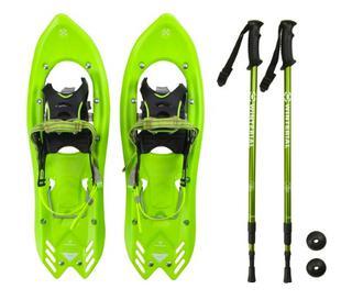 Winterial Yukon 25-Inch Lightweight All Terrain Snowshoes Men's - Green (J38)