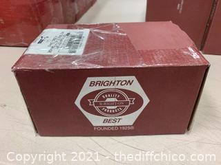 "Brighton Best 1/2""-13x4-1/2"" A307 Grade Hex Bolts - Box of 25 (J84)"