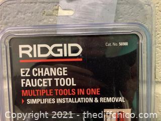 Ridgid 56988 EZ Change Faucet Tool (J125)