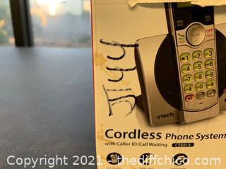 VTech CS6919 DECT 6.0 Expandable Cordless Phone (J144)