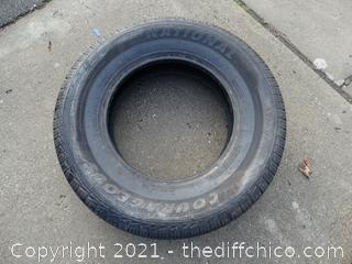 National LT 245-75R 17 Tire