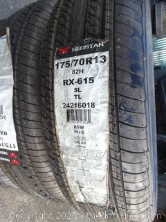 Geostar Tires set of 3- See pictures