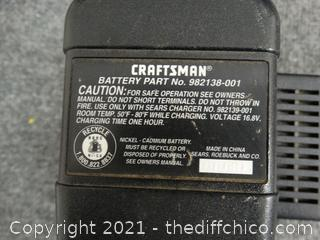 Craftsman Battery & Charger