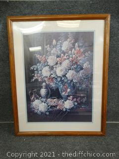 Framed Art - Roses