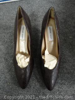 Carriage Court Heels - Size 10M