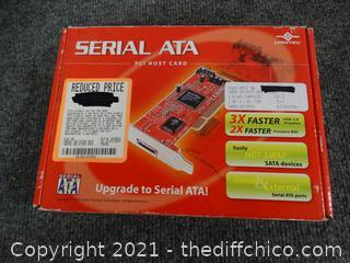 Serial ATA PCI Host Card - NIB