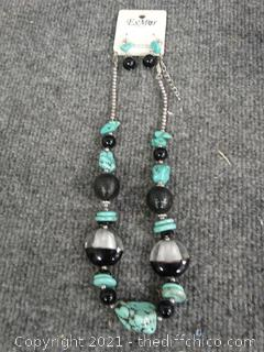 Earring & Necklace Set - New