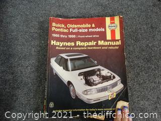 Buick , Oldsmobile, Pontiac Manual