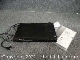 Sony DVD Player with Book
