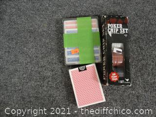 Poker Chips & Cards