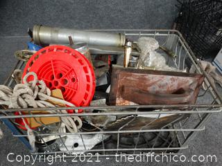 Mens Tools and more In Crate
