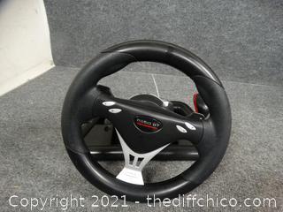 R660 GT Motorsport Gaming Steering Wheel
