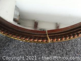 Oval Mirror see Pics