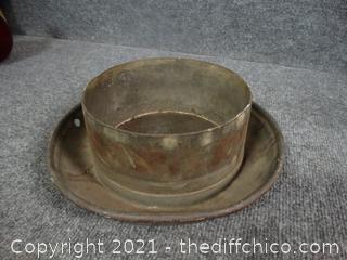 Multipurpose Metal Bowl