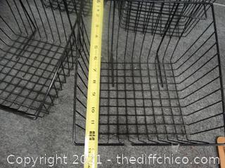 Multipurpose Baskets Black