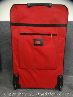 """Amber Rolling Suitcase 34"""" x 21"""" x 10"""""""