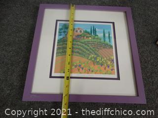 Numbered Signed Framed Art # 23 of 750