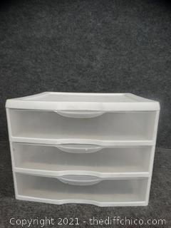 Sterilite 3 Drawer Container