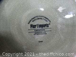 Pier 1 Imports Carynthum lid has been repaired