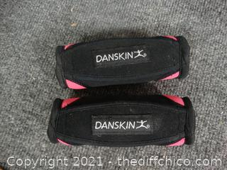 2 small Danskin Weights