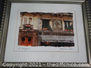 Signed Framed Art BY Maureen Love