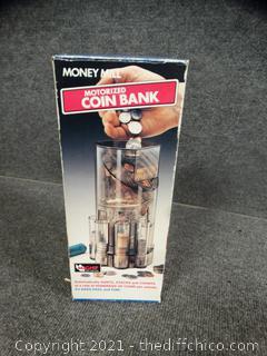 Motorized Coin Bank