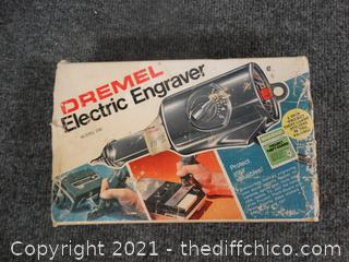 Working Dremel Electric Engraver