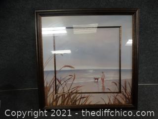 """Signed Framed Art 22 """" x 22"""""""