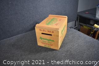 Remington Wood Box