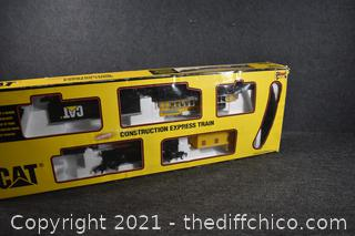 CAT Construction Express Train - Untested 'as is'