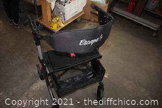 Folding Escape Rollator Medical Assistant Chair