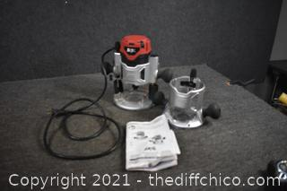 Skil Working Router plus accessories