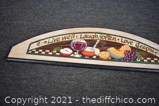 Wood Wall Plaque
