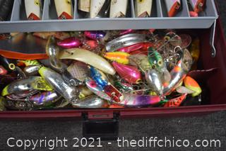 Tackle Box plus Contents