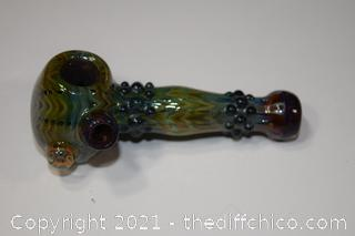 Hand Made Glass Pipe