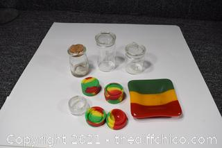 Storage Containers plus Ash Tray
