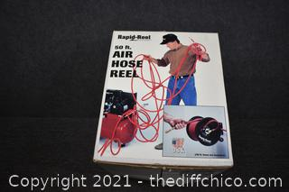 NIB Rapid Reel Air Hose Reel