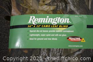 NIB Camo Leaf Blind