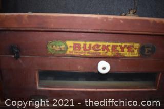 Vintage Buckeye Egg Incubator