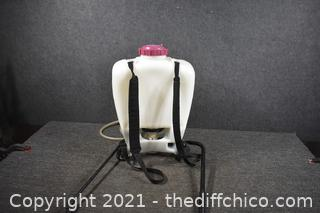 Working Backpack Sprayer