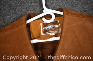 Pioneer Wear Leather Vest - size 42