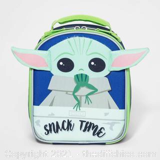 Star Wars The Mandalorian Baby Yoda Lunch Tote