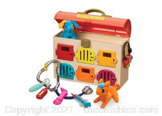 B. toys Toy Vet Kit for Kids Critter Clinic