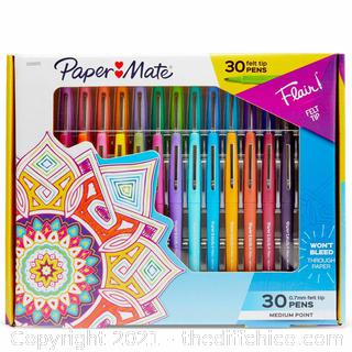 Paper Mate Flair! 30ct Marker Pen Boxed Gift Set