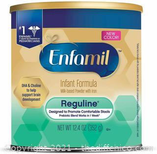 NEW Enfamil Reguline Infant Formula Powder - 12.4oz