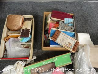 Sewing lot