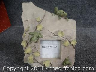 Frog Picture Frame